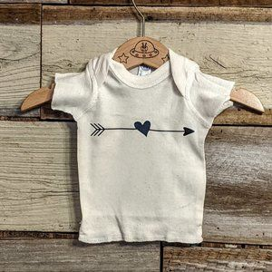 Shirts & Tops - Heart & Arrow Cotton T Shirt sz NB